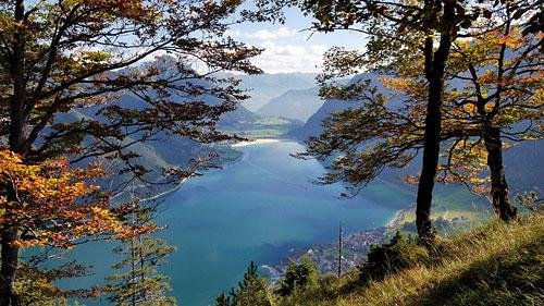Der Achensee im Herbst